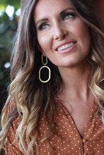 Load image into Gallery viewer, Natalie Joy - Double Oval Earring