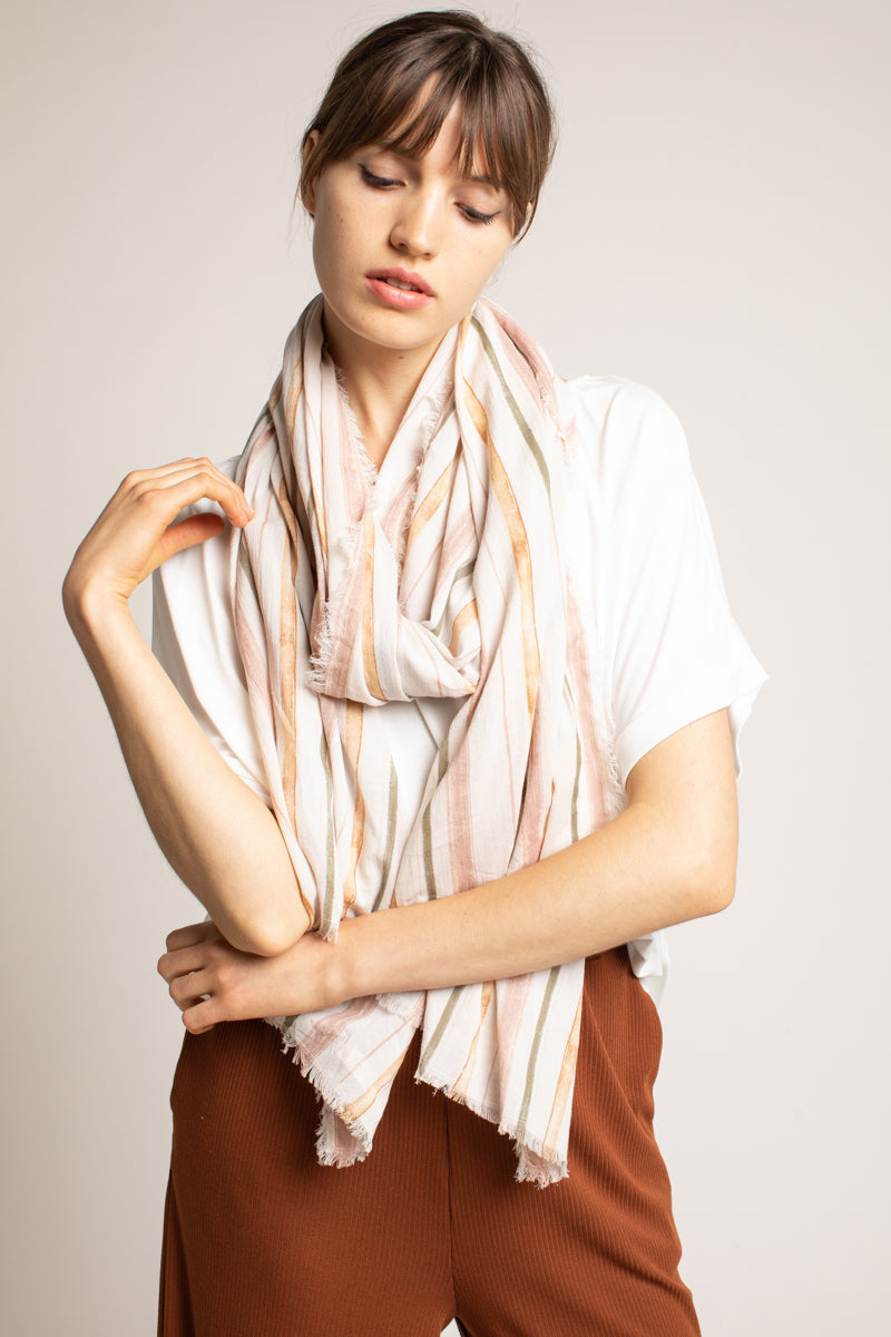 Grade & Gather - Soraiya Scarf in Petal