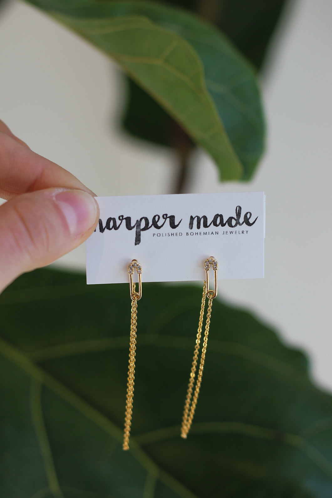 Harper Made - Pin Earrings