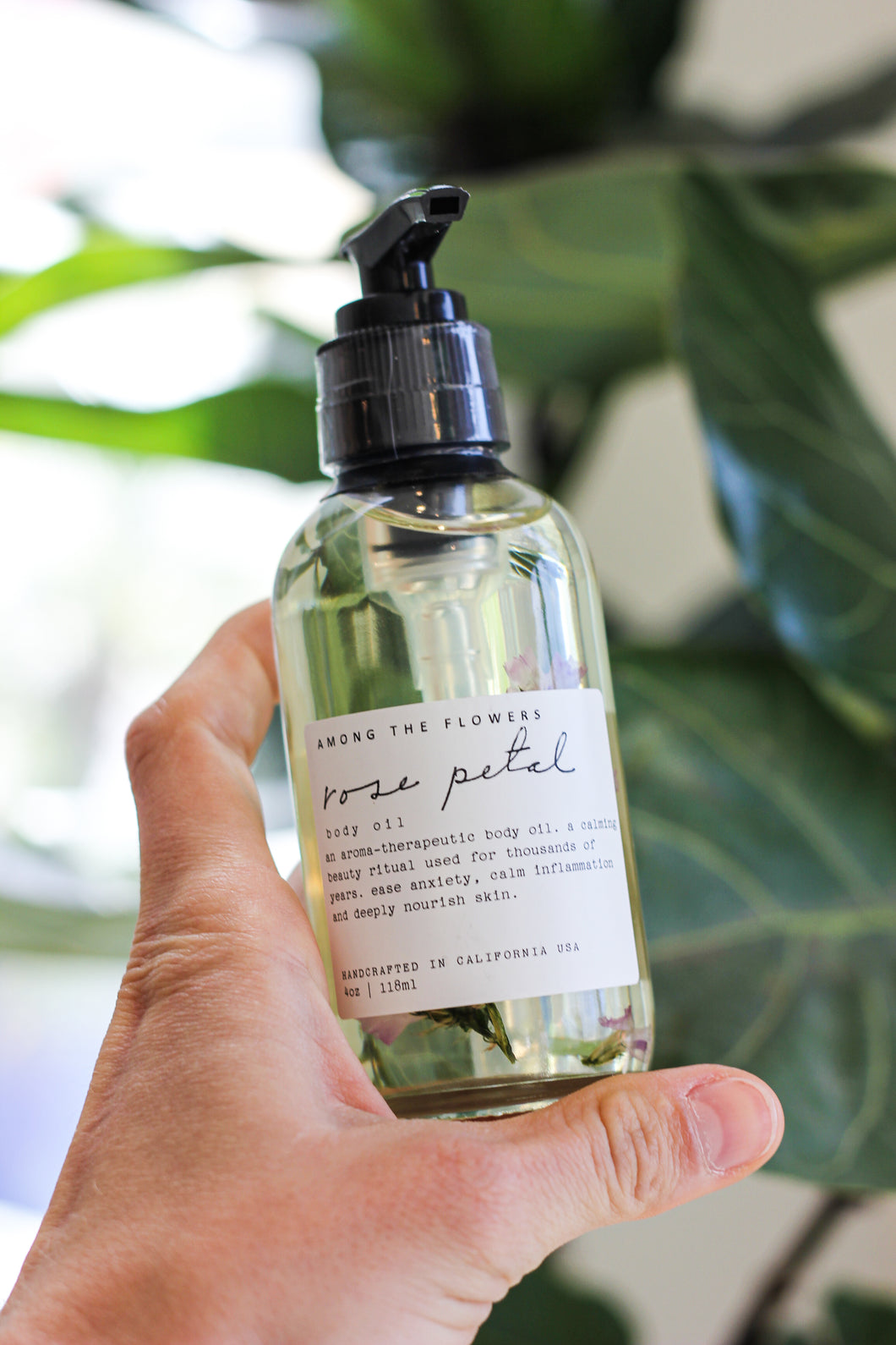 Among the Flowers - Rose Petal Body Oil