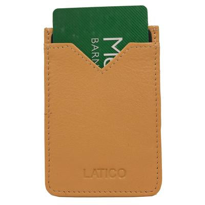 Latico-Adhesive Credit Card Wallet-Beige