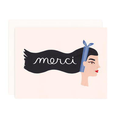 Girl W/ Knife Cards - Merci Card