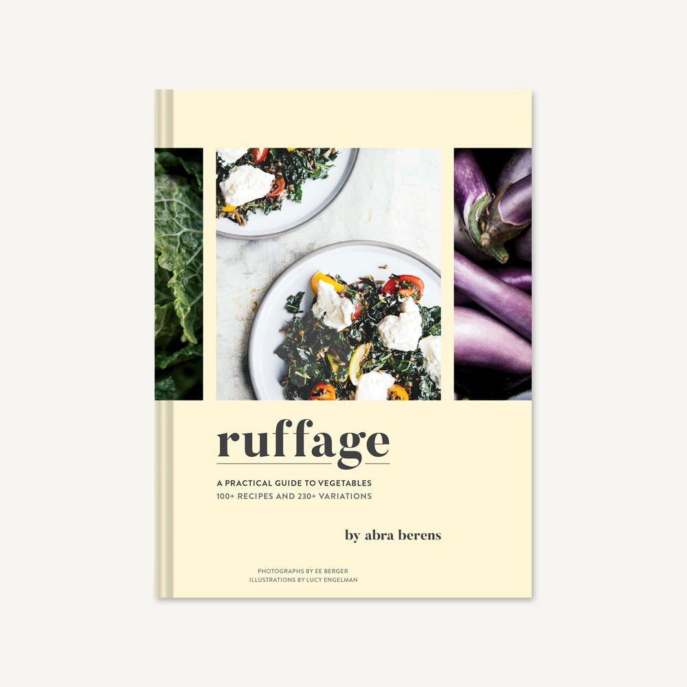 Chronicle Books-Ruffage-Front Cover