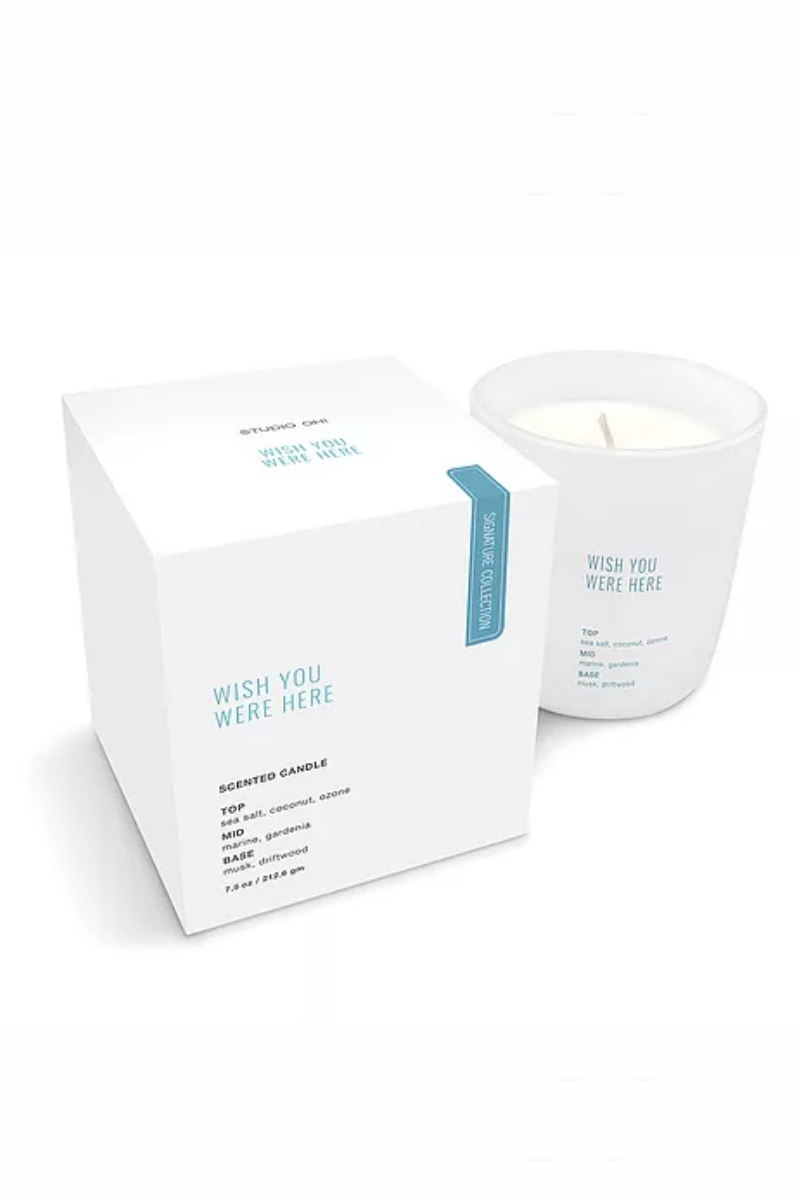 Orange Circle Studio - Wish You Were Here Signature Candle