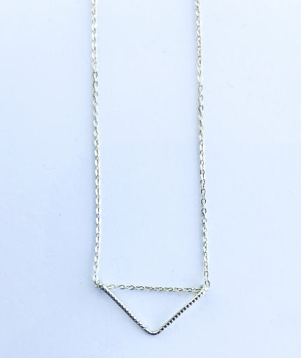 Boxwood - KYA Triangle Sterling Silver Necklace