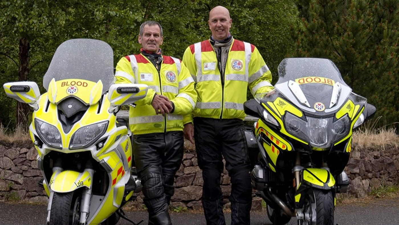 Blood Bikes Scotland Visit Ultimateaddons