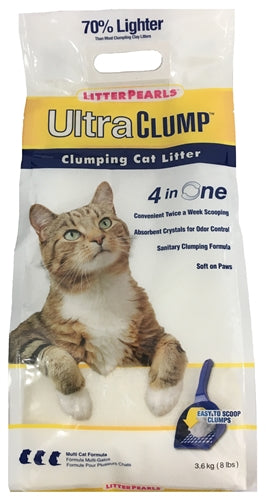 Litter pearls ultra clump