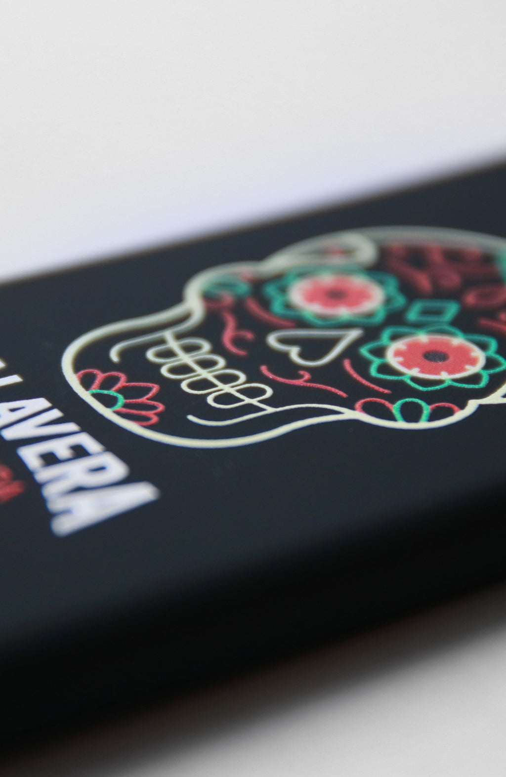 "Custodia iPhone 7 Apple ""Cover Calavera Black Colors"""