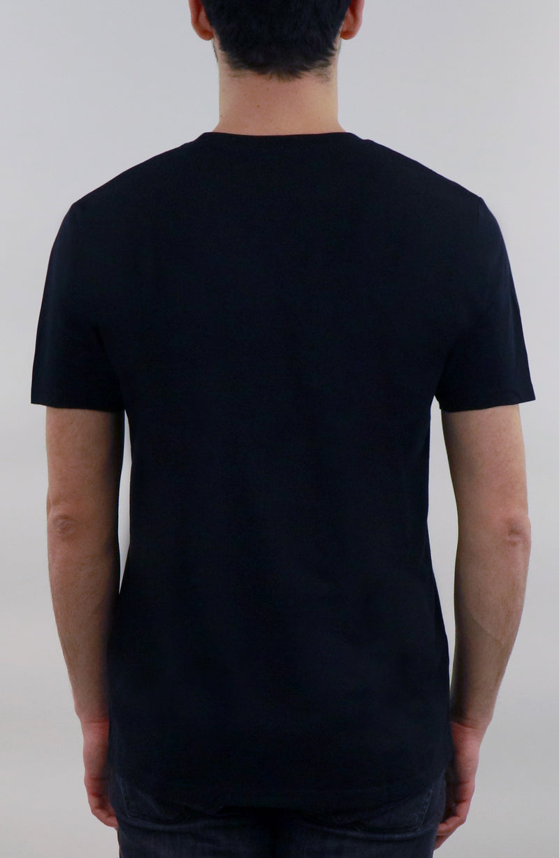 T-Shirt streetwear black for man by Farid Rueda
