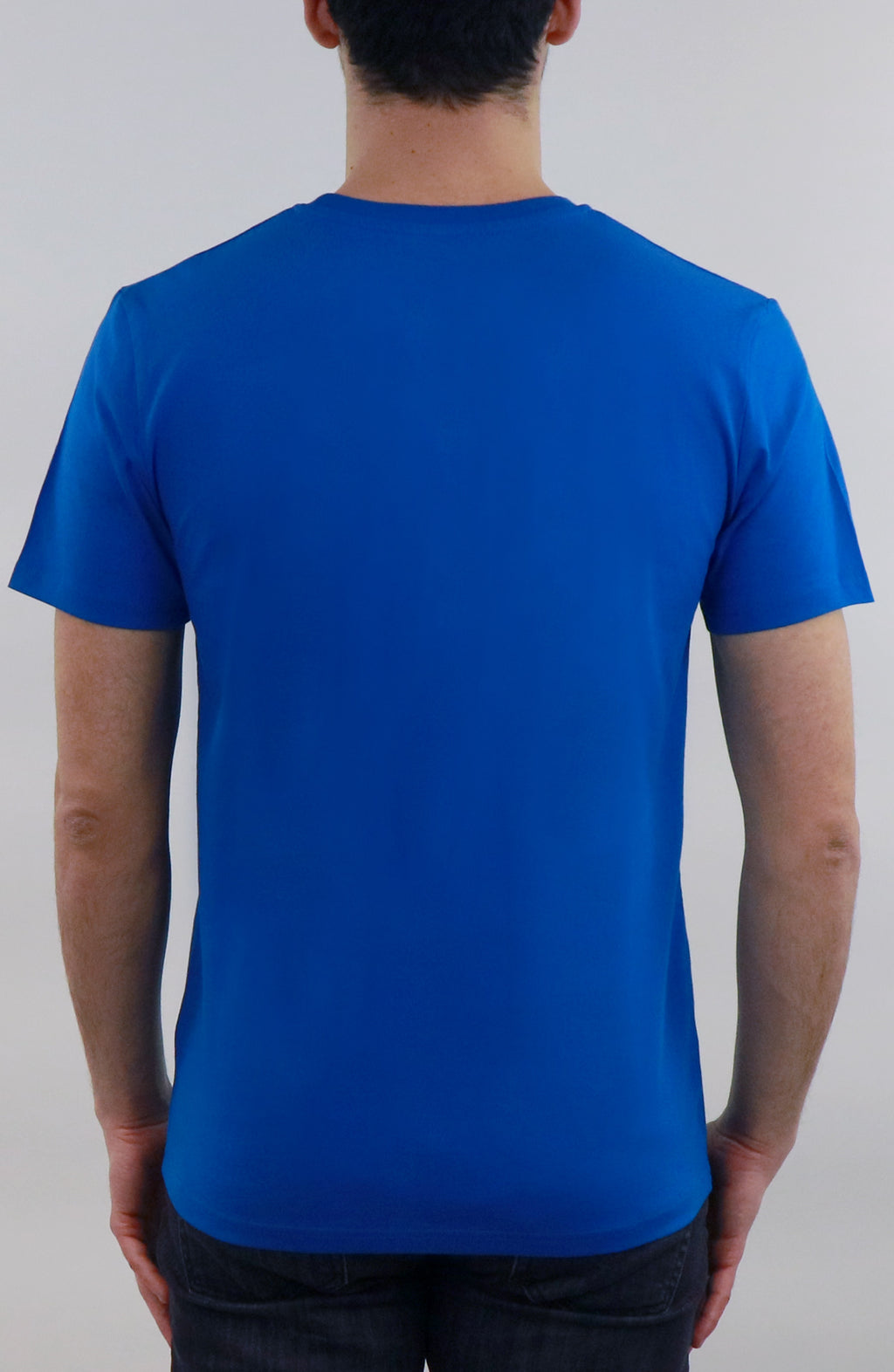 T-Shirt streetwear blue for man by Farid Rueda