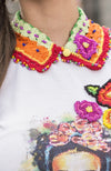 T-shirt con Frida Kahlo by Enamoramex for woman