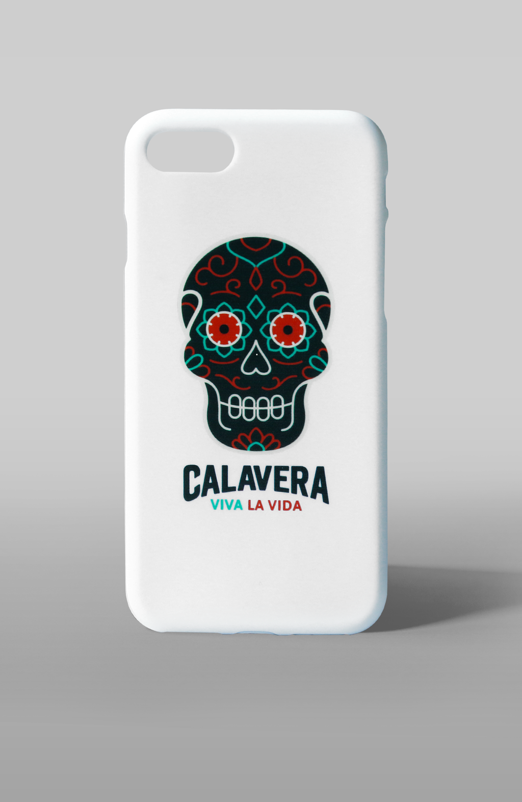 "Custodia iPhone 7 Apple ""Cover Calavera White"""