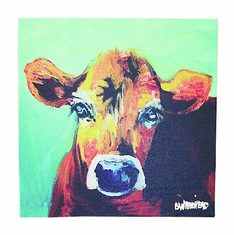 Canvas Wall Art, Jersey Cow - Calico Trails at Clear Creek Farm