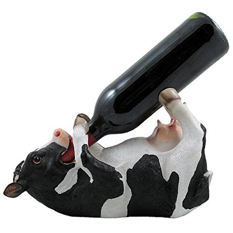 Drinking Cow Wine Bottle Holder - Calico Trails at Clear Creek Farm