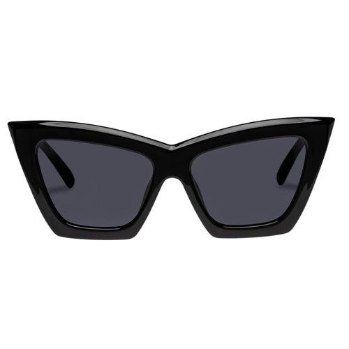 Le Specs Female Hathor Alt Fit  Black Cat-Eye Sunglasses