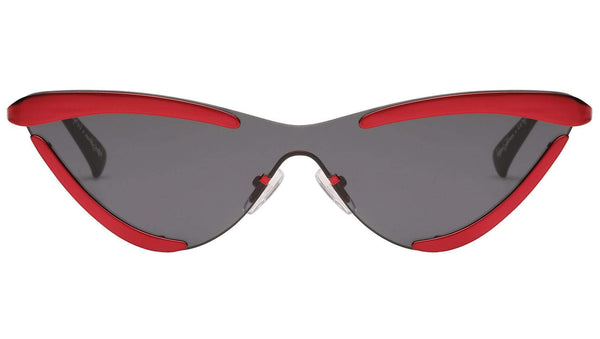 THE SCANDAL | METALLIC RED-SMOKE MONO ADAM SELMAN X LE SPECS Le Specs
