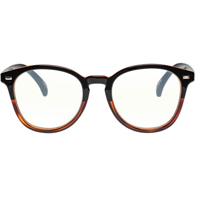 BANDWAGON | BLUE LIGHT BLACK TORT GLASSES