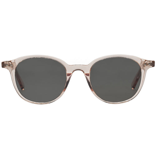 Le Specs Equinox Uni-Sex Tan Round Prescription Ready Sunglasses