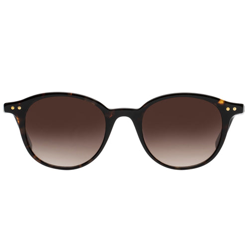 Le Specs Equinox Uni-Sex Tort Round Prescription Ready Sunglasses