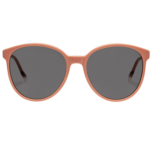 Le Specs Elan Vital Womens Pink Round Prescription Ready Sunglasses