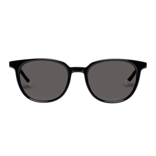 Le Specs Nomad Black Round Prescription Ready Sunglasses Nomad Black Lsh2026369