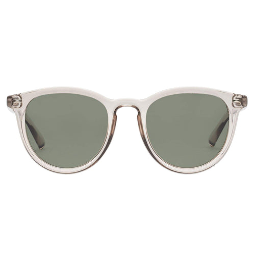 Le Specs Polarised Fire Starter Uni-Sex Grey Round Sunglasses
