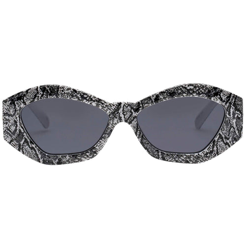 Le Specs The Ginchiest Womens Pattern Cat-Eye Sunglasses
