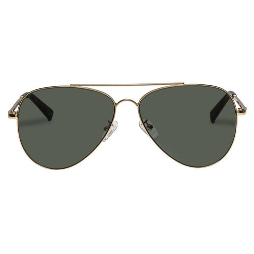 Le Specs Fly High Gold Aviator Sunglasses Fly High Gold Lsp1902158