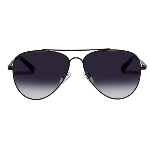 Le Specs Fly High Black Aviator Sunglasses Fly High Black Lsp1902159