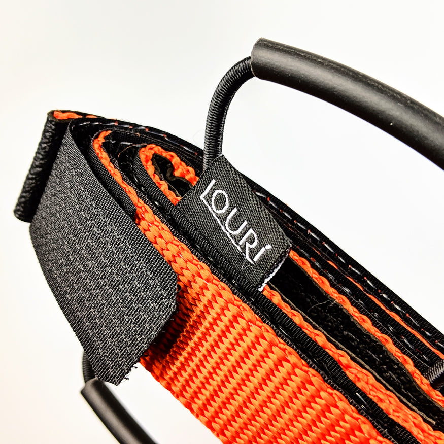 Louri Frame Strap Close Up Orange