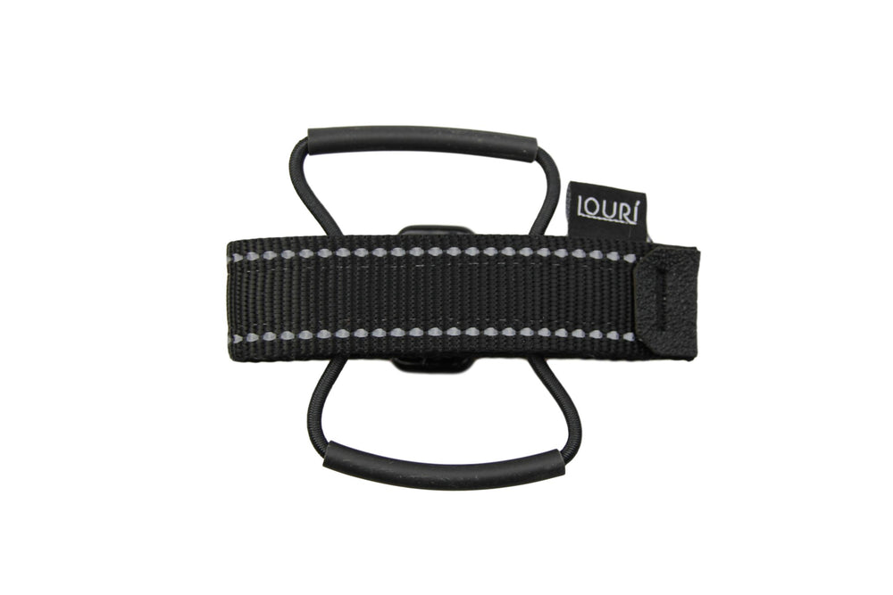 Louri Saddle Strap Black Reflective