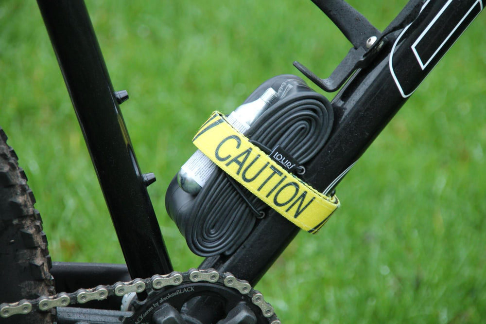 Caution Tape Frame Strap