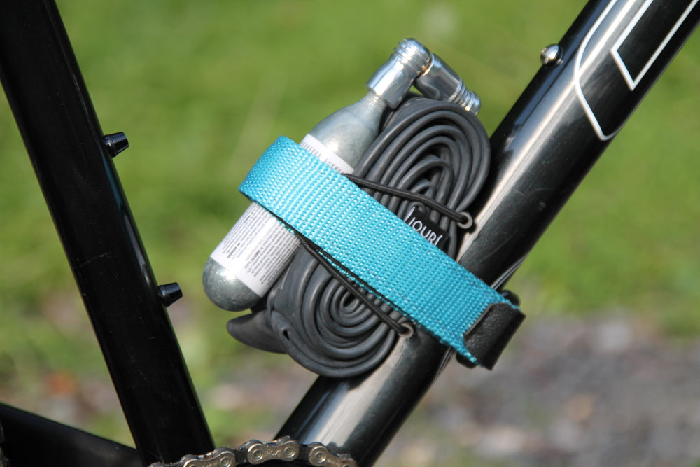 MTB Strap On to the frame in blue