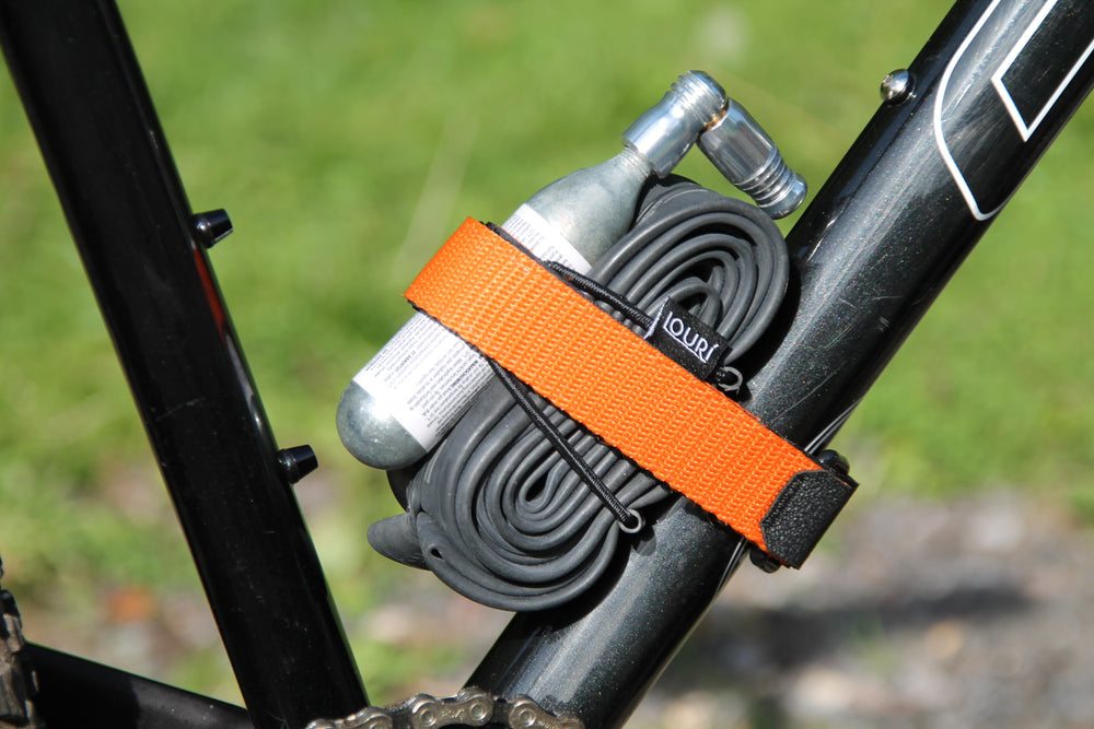 Neon Orange Enduro Frame Strap