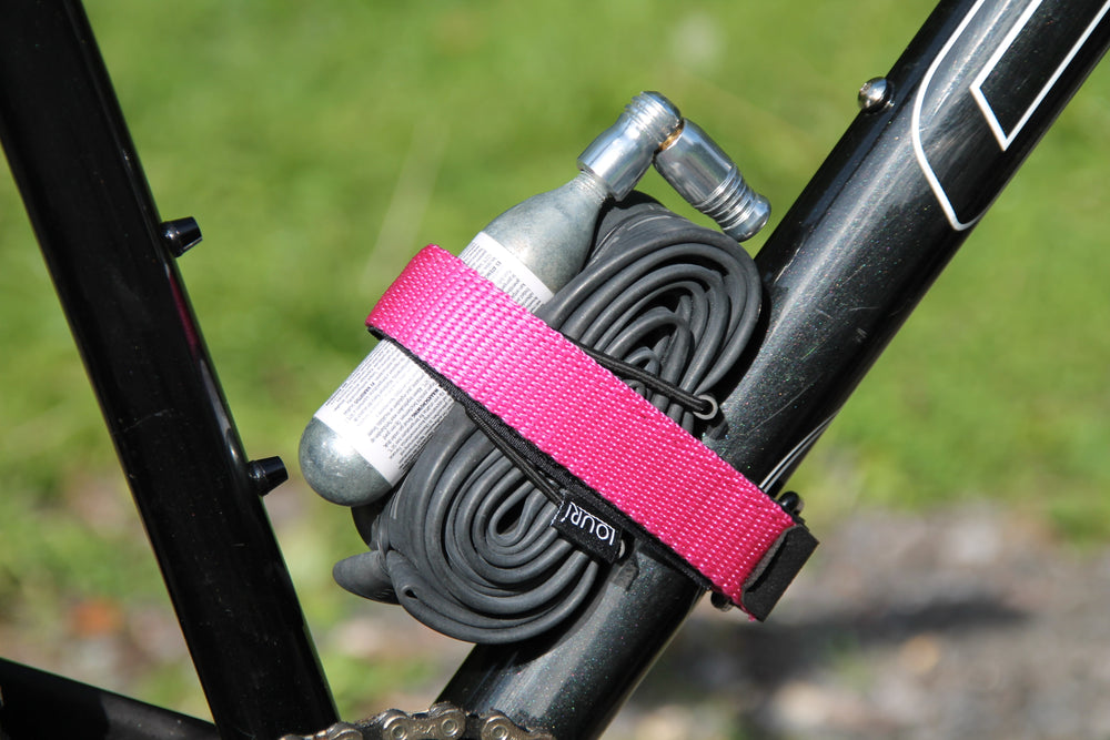 Flat Pink Enduro MTB all mountain strap