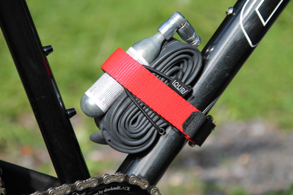 Red Velcro Inner Tube strap