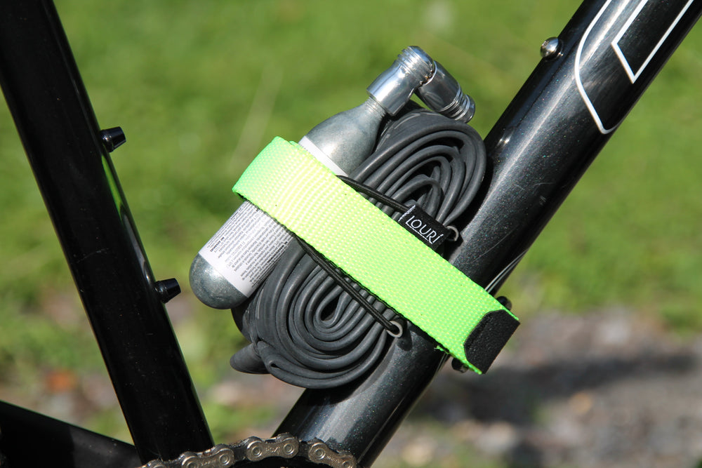 neon yellow enduro mtb strap