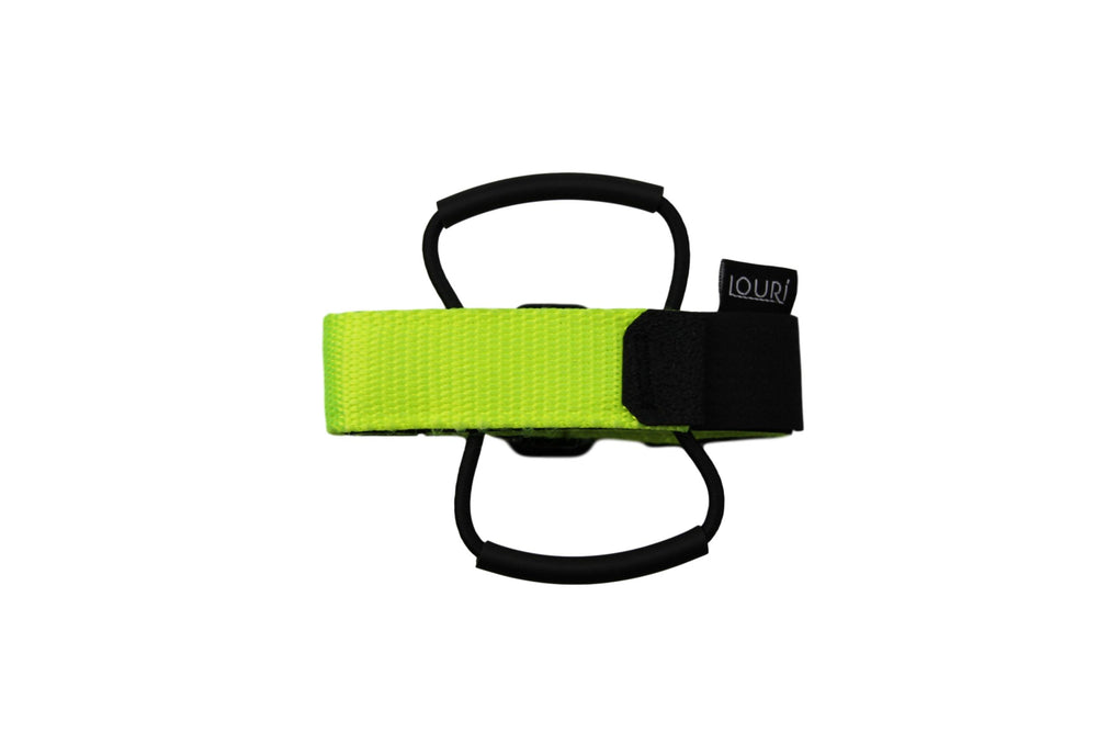 Louri Saddle Strap Neon Yellow
