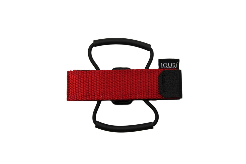 Louri Saddle Strap Red