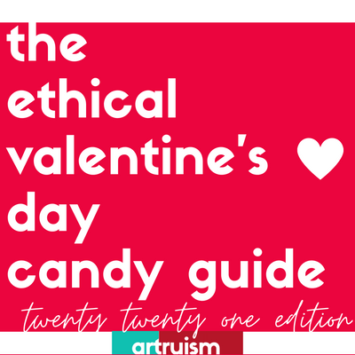 Falling in love with (slavery-free) candy- The 2021 Valentine's Day Candy Guide!