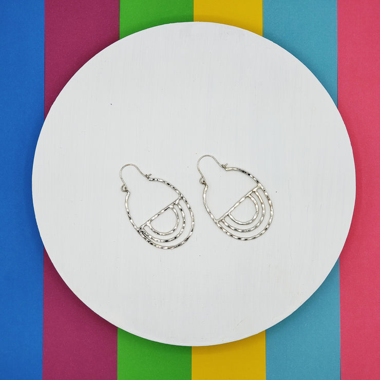 Jess Earrings Silver
