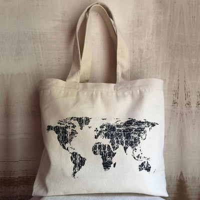 World Traveler Tote Bag