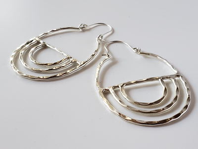 Silver Sol Earrings