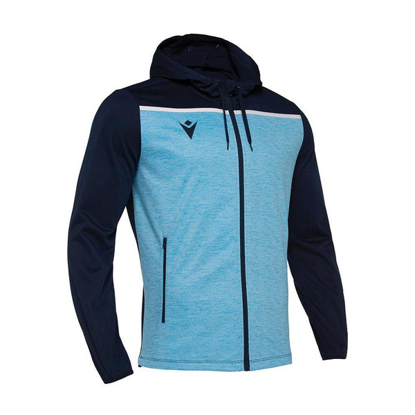 Macron Aether Hoody Full Zip Top - Campus Sports
