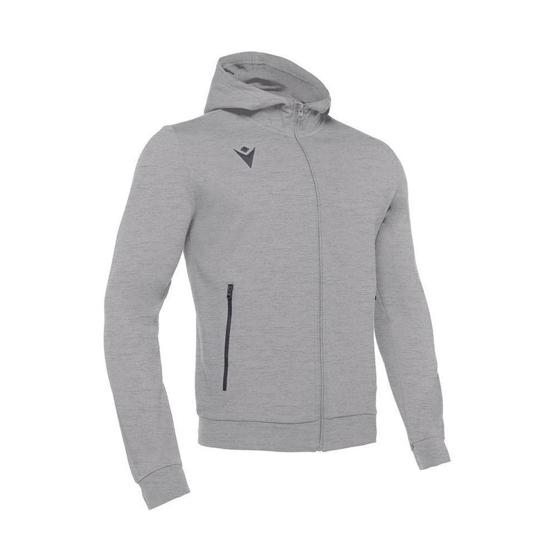 campus-sports - Macron Cello Full Zip Hooded Sweatshirt