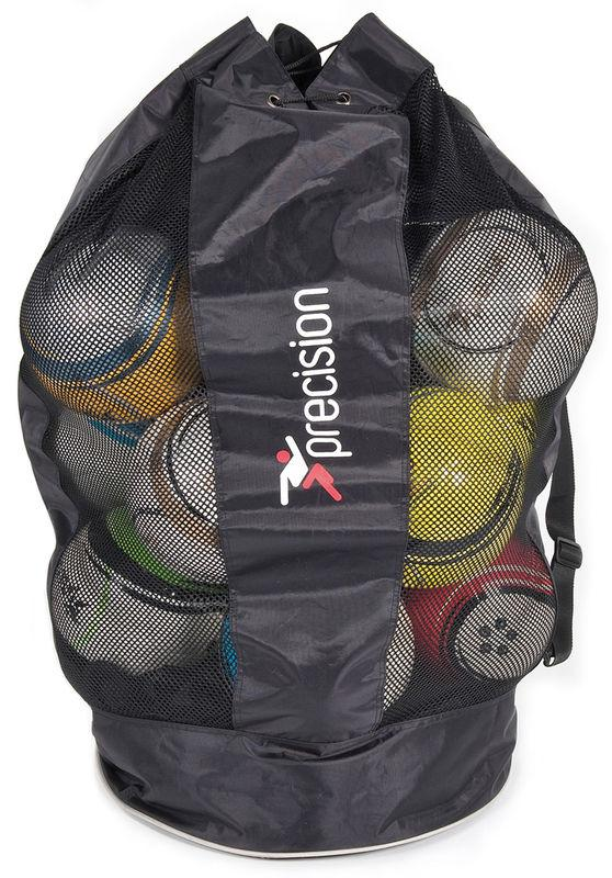 "Precision 20 Ball ""Jumbo"" Sack (Black/Silver) - Campus Sports"