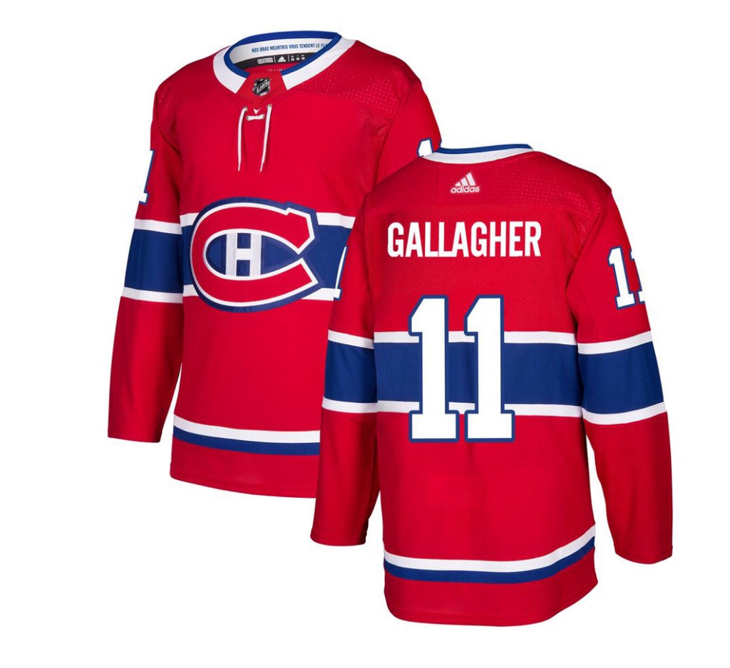 BRENDAN GALLAGHER- CANADIENS REPLICA JERSEY - HABS