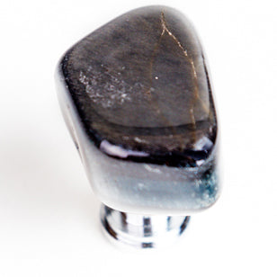 Blue Tigers Eye Stone Knob