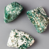 Green Tree Agate Stone Knob