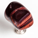 Red Tiger-eye Stone Knob